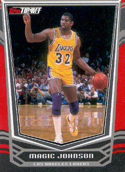 2008-09 Topps Tip-Off Red #108 Magic Johnson