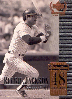 1999 Upper Deck Century Legends #48 Reggie Jackson