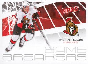 2011-12 Upper Deck Victory Game Breakers #GBDA Daniel Alfredsson