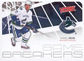2011-12 Upper Deck Victory Game Breakers #GBDS Daniel Sedin