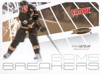 2011-12 Upper Deck Victory Game Breakers #GBRG Ryan Getzlaf