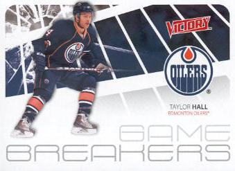 2011-12 Upper Deck Victory Game Breakers #GBTH Taylor Hall