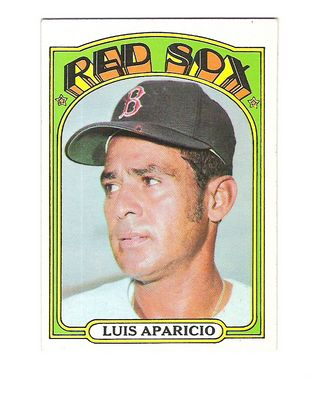 1972 Topps #313 Luis Aparicio
