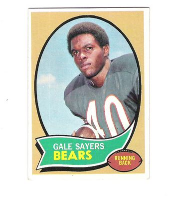 1970 Topps #70 Gale Sayers