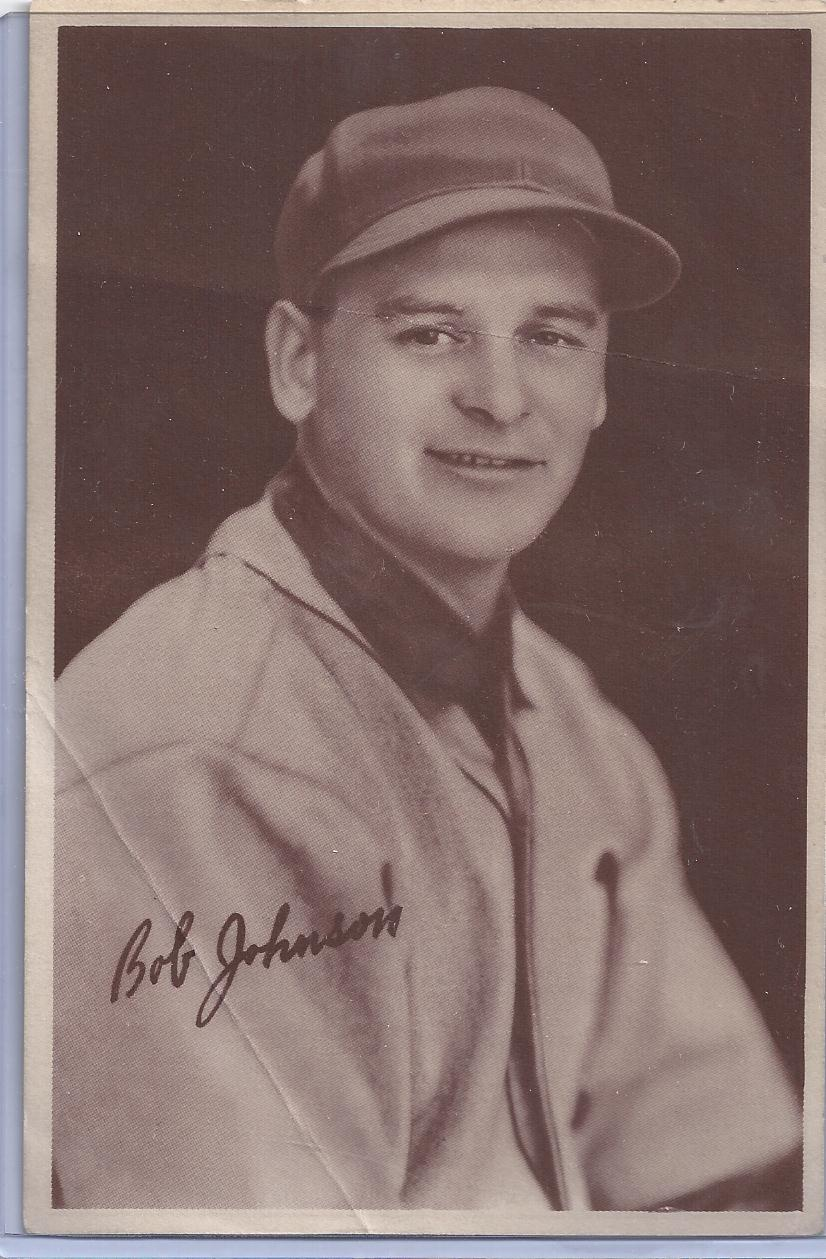 1939 Goudey Premiums R303A #27 Bob Johnson