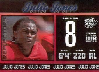 2011 Press Pass Reflectors Blue #3 Julio Jones