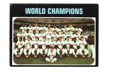 1971 Topps #1 Baltimore Orioles TC