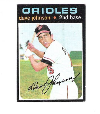 1971 Topps #595 Dave Johnson
