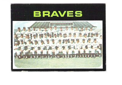 1971 Topps #652 Atlanta Braves TC