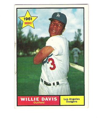 1961 Topps #506 Willie Davis RC front image