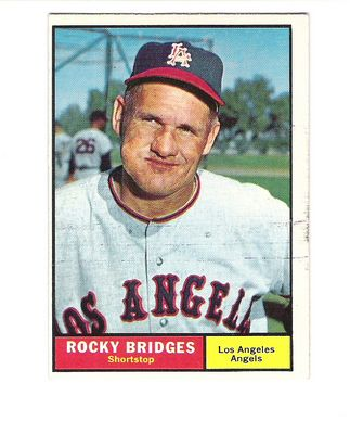 1961 Topps #508 Rocky Bridges