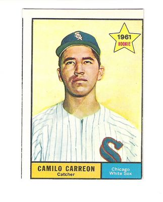 1961 Topps #509 Camilo Carreon front image