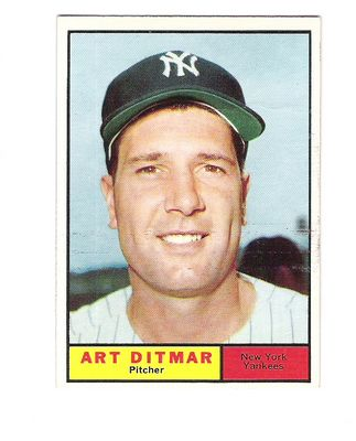 1961 Topps #510 Art Ditmar