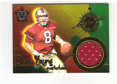 2000 Vanguard Game Worn Jerseys #13 Steve Young