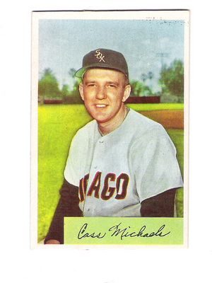 1954 Bowman #150 Cass Michaels