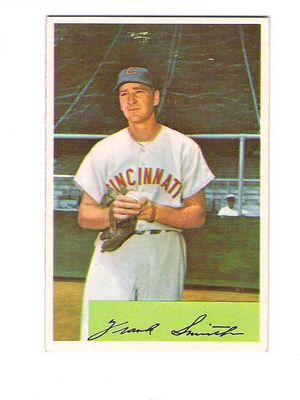 1954 Bowman #188 Frank Smith front image