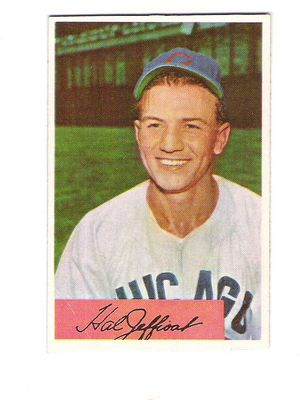 1954 Bowman #205 Hal Jeffcoat