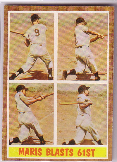 1962 Topps #313 Roger Maris IA
