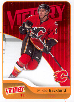 2011-12 Upper Deck Victory #35 Mikael Backlund