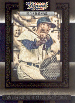 2008 Donruss Sports Legends Museum Collection #22 Eddie Mathews
