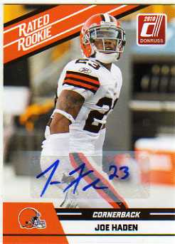 2010 Donruss Rated Rookies Autographs #53 Joe Haden/125*