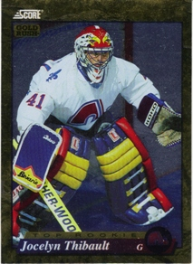 1993-94 Score Gold Rush #593 Jocelyn Thibault