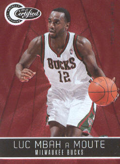 2010-11 Totally Certified Red #13 Luc Mbah a Moute