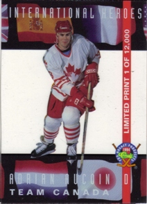 1994 Classic Pro Prospects International Heroes #LP11 Adrian Aucoin