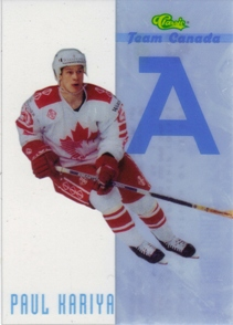 1993 Classic Team Canada #TC2 Paul Kariya