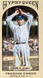 2011 Topps Gypsy Queen Mini #38A Walter Johnson