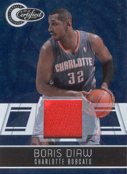 2010-11 Totally Certified Blue Materials #6 Boris Diaw/99