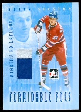 2007-08 ITG O Canada Formidable Foes Jerseys #FF16 Peter Stastny/Guy Lafleur