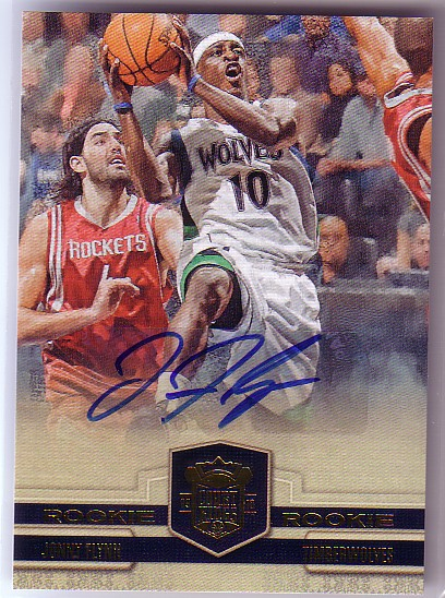2009-10 Court Kings #132 Jonny Flynn AU RC