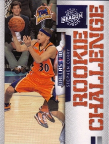 2009-10 Panini Season Update Rookie Challenge #1 Stephen Curry
