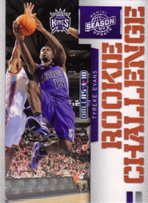 2009-10 Panini Season Update Rookie Challenge #2 Tyreke Evans