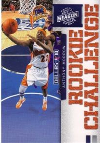 2009-10 Panini Season Update Rookie Challenge #4 Anthony Morrow