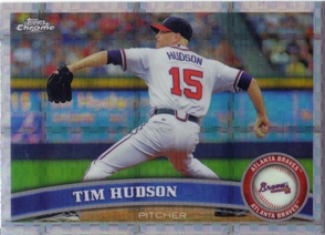 2011 Topps Chrome X-Fractors #101 Tim Hudson