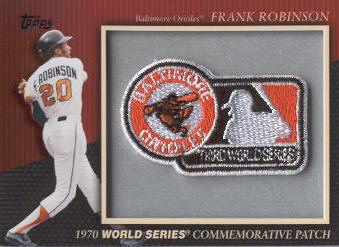 2010 Topps Commemorative Patch #MCP23 Frank Robinson