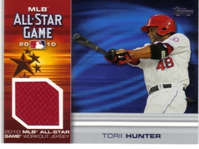 2010 Topps Update All-Star Stitches #TH Torii Hunter