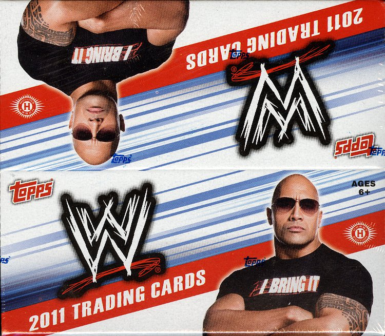 2011 Topps WWE Wrestling Factory Sealed Hobby Box - Includes a pk of sleeves