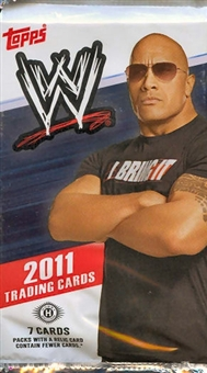 2 PACK LOT : 2011 Topps WWE Wrestling Factory Sealed Hobby Pack