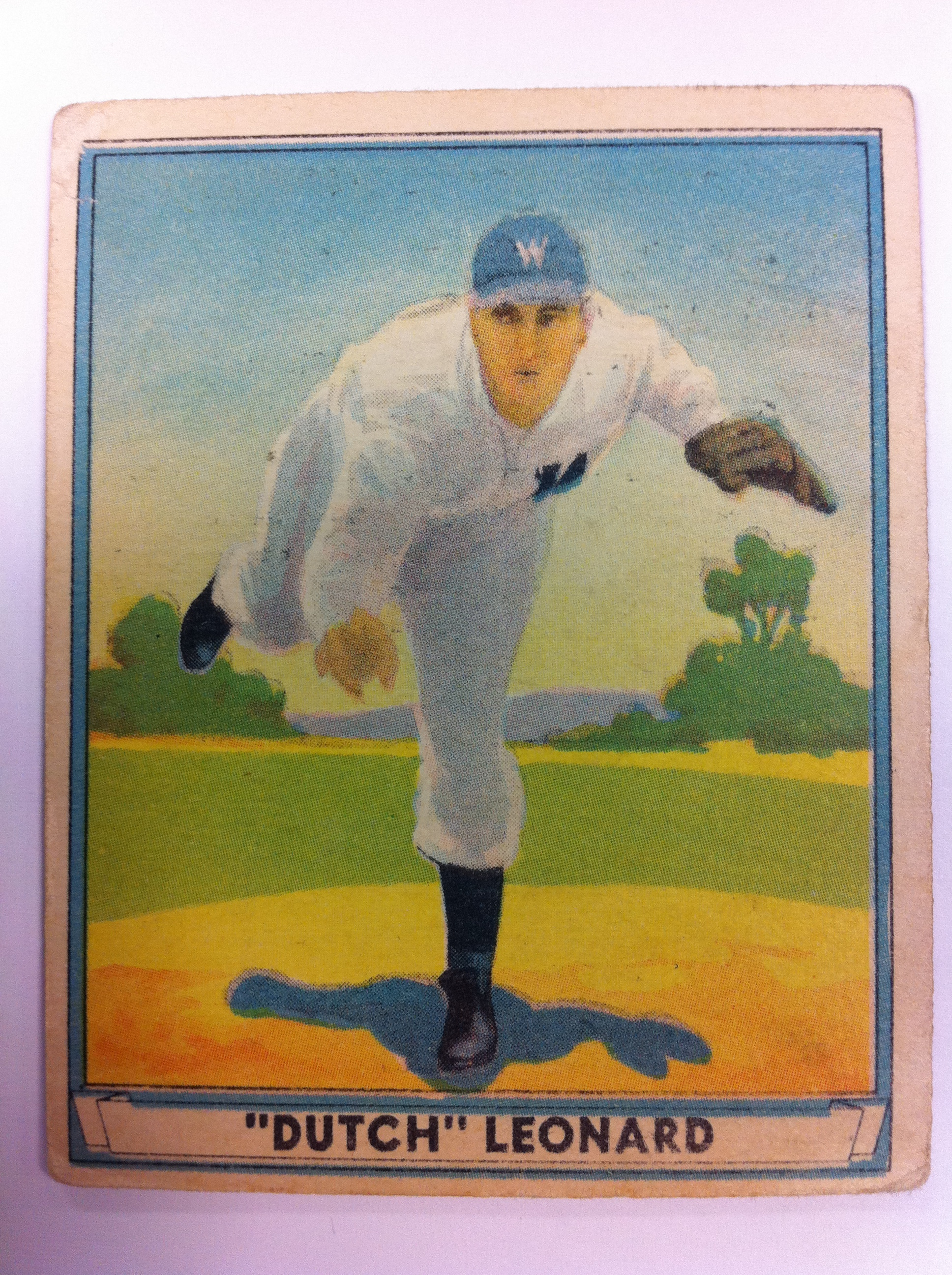 1941 Play Ball #24 Dutch Leonard