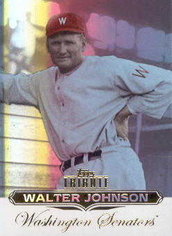 2011 Topps Tribute #19 Walter Johnson