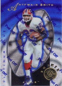 1997 Pinnacle Totally Certified Platinum Blue #126 Antowain Smith