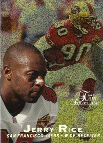 1997 Flair Showcase Row 0 #1 Jerry Rice