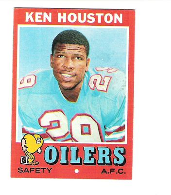 1971 Topps #113 Ken Houston RC