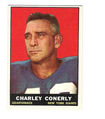 1961 Topps #85 Charley Conerly