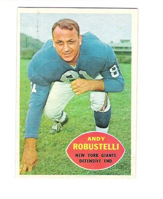 1960 Topps #81 Andy Robustelli