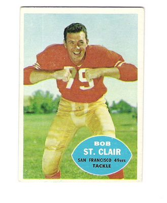 1960 Topps #118 Bob St.Clair