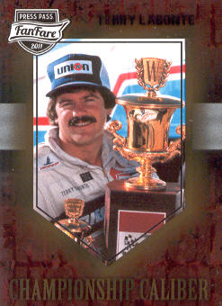2011 Press Pass FanFare Championship Caliber #CC8 Terry Labonte